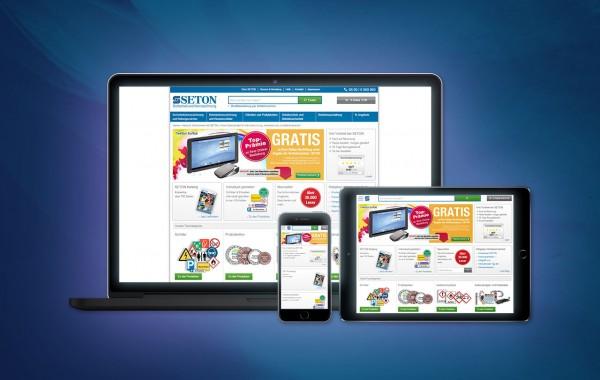 BRADY GmbH, SETON Division - Online-Shop Programmierung