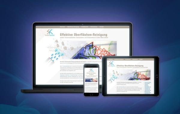 SK Strahltechnik - Corporate Design, Website-Erstellung, Suchmaschinen-Optimierung