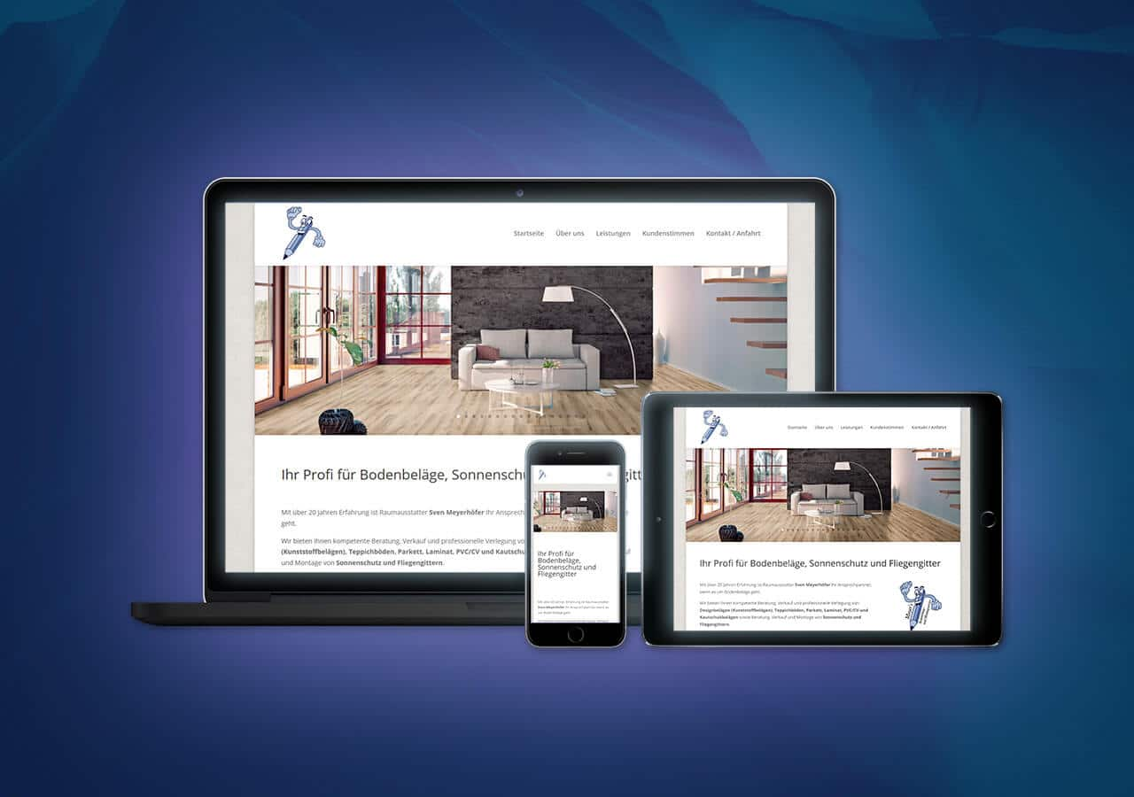 Meyers BMS - Website Launch, Konzeption und Design