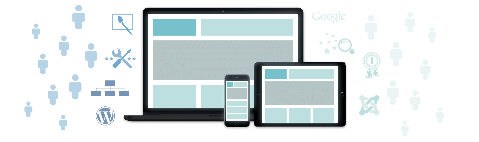 Header Wunderbar wirksame Websites